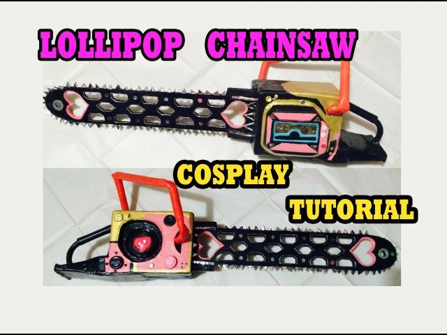COSPLAY TUTORIAL - LOLLIPOP CHAINSAW