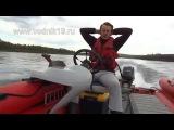 УПРАВЛЯЕМОСТЬ и КУРСОВАЯ УСТОЙЧИВОСТЬ Лодки ФРЕГАТ М-480 + Yamaha-40veos (50лс) + водомет