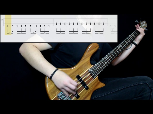 Doomriders - The Long Walk (Bass Cover) (Play Along Tabs In Video)