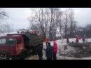 Вырубка лип в Александровском саду Нижнего Новгорода под строительство рестора...