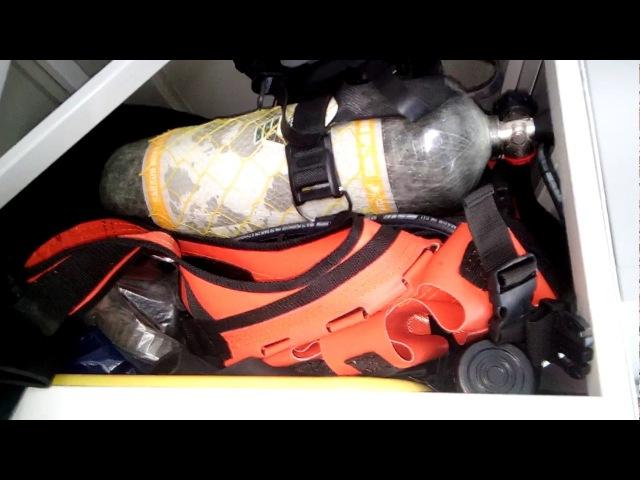 Водолазная барокамера в водолазной машине. Международный Военный форум АРМИЯ-2017