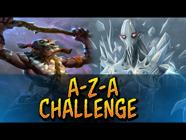 Dota 2 - A-Z-A Challenge - Ancient Apparition Witch Doctor