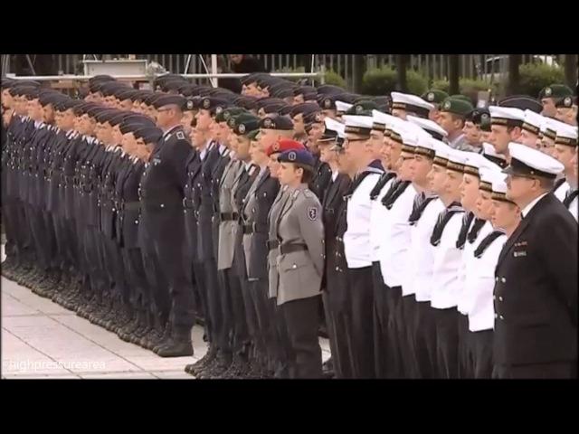 German Military Sleeping Giant Bundeswehr Demonstration HD