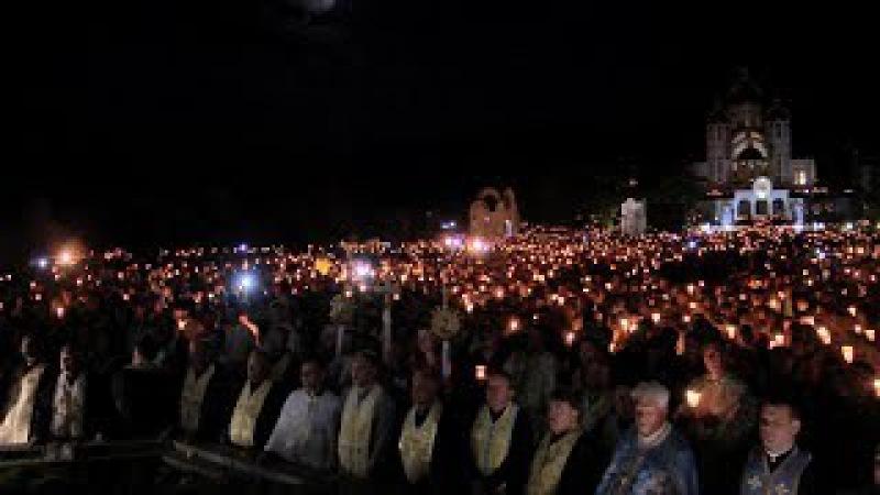 15.07.2017 Похід зі свічками до чудотворного місця у Зарваниці