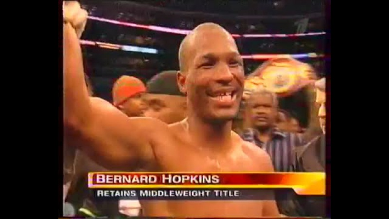 Бернард Хопкинс-Говард Истман(Вл. Гендлин ст.)Bernard Hopkins vs Howard Eastman
