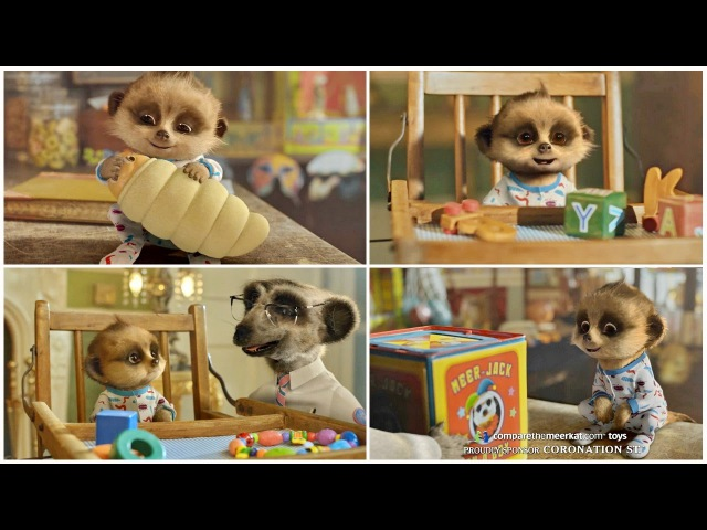 Compare The Market Meerkat Baby Oleg Cute and Funny Commercials Ever