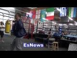 Boxing Champ Aleksandr Usyk Sick Dancing Moves Does The Ukranian Shuffle EsNews Boxing