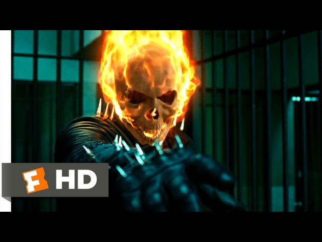 Ghost Rider - Prison Break Scene