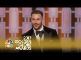 Aaron Taylor-Johnson Wins Best Supporting Actor at the 2017 Golden Globes