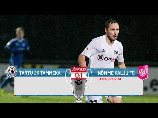 35. voor 2016: Tartu JK Tammeka - Nõmme Kalju FC 0:1 (0:0)