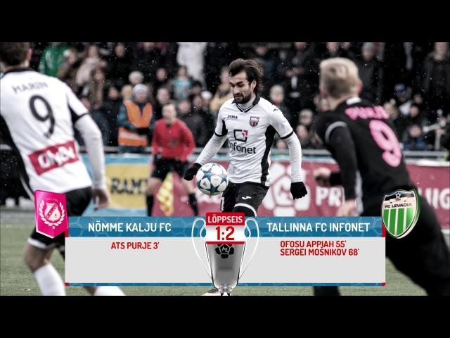 36. voor 2016: Nõmme Kalju FC - Tallinna FC Infonet 1:2 (1:0)