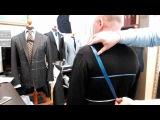 Правильное снятие мерок на мужской пиджак