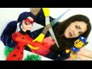 ИгрыДляДетей Заколдованные ножницы!✂️ МультикЛедиБагиСуперКот Куклы Барби