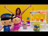#çocukvideosu. Pepee ve Şila renkli kum alıyorlar🌈. #çizgifilmoyuncakları ile eğlenceli video