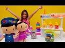 çocukvideosu Pepee ve Şila renkli kum alıyorlar🌈 çizgifilmoyuncakları ile eğlenceli video