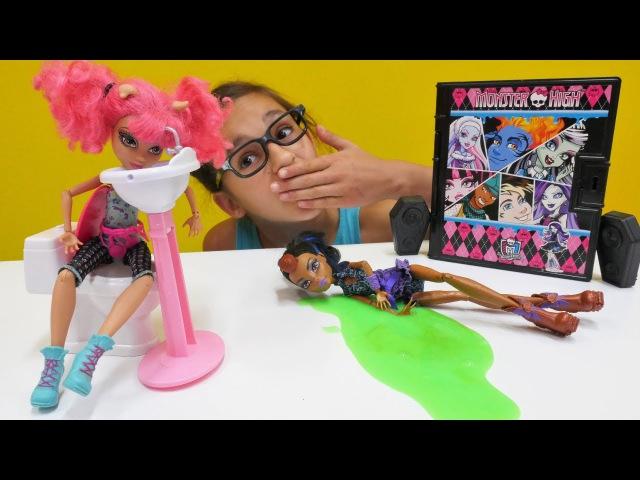 MonsterHigh Torelai dans yarışmasında yaramazlık yapıyor. eğlencelioyunlar
