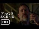 """The Walking Dead 7x03 """"Dwight and Negan Private Talk"""" Scene Season 7 Episode 3"""