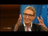 Anne Will 20.08.2017 Alice Weidel AfD