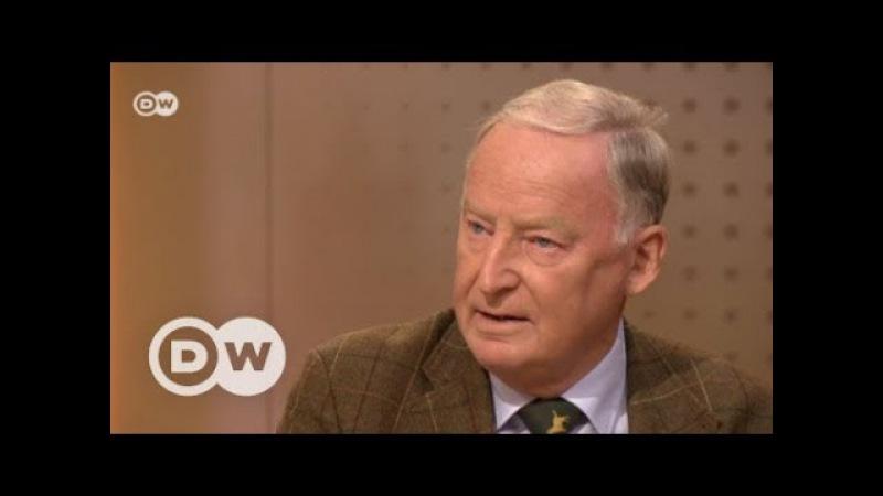 DeutschlandWaehlt Das Interview mit Alexander Gauland, AfD   DW Deutsch
