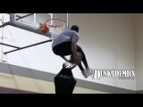 Chris Staples Under Both Legs Dunk OVER Person!!