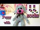 DIY how to make a puppy dog with socks easy crafts Isa ❤️