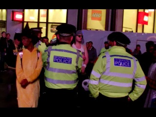 Halloween Police Shut Down my Street Party But McDonalds CoOP went off