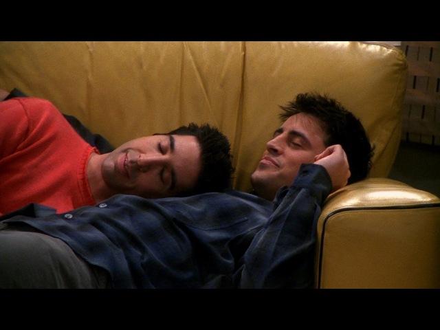 Friends - Best Nap Ever Ross Joey