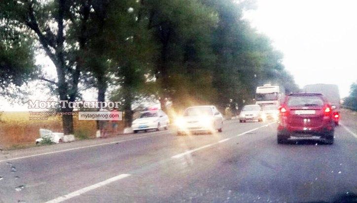 На трассе «Ростов-Таганрог» под Вареновкой произошло ДТП, несколько пострадавших