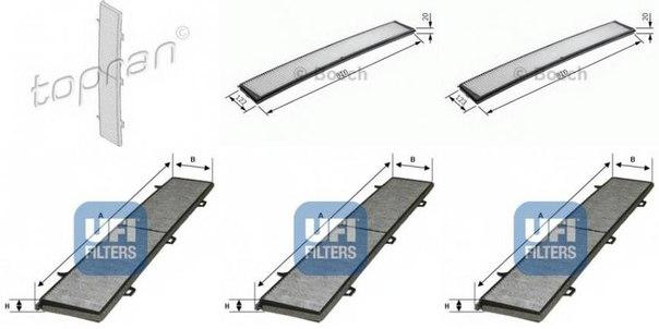 Фильтр, воздух во внутренном пространстве для BMW X1 (E84)