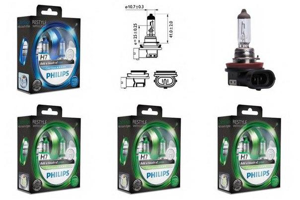 Лампа накаливания, фара дальнего света; Лампа накаливания, основная фара; Лампа накаливания, противотуманная фара; Лампа накаливания для BMW X3 (F25)