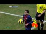 ЧИ 2012-13 | 19 тур | Малага - Барселона 1-3 | 2 тайм