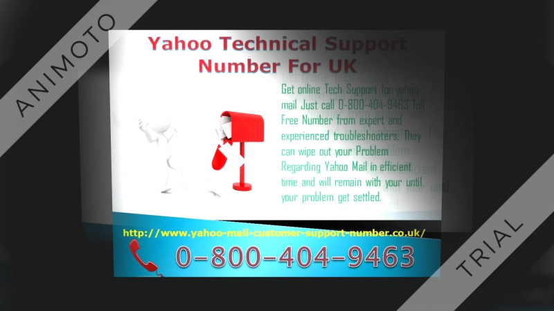Yahoo Mail Support Number UK Just call 0-800-404-9463 For Excellent Customer service
