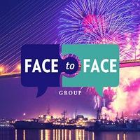 """Логотип Event-агентство """"Face To Face"""" / Владивосток"""