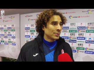 📡 Guillermo Ochoa: Hoy demostramos que queremos seguir en Primera, y que este es el camino