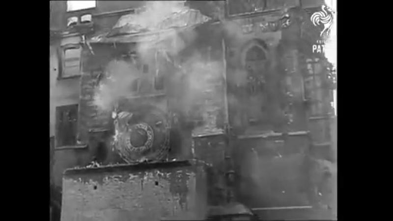 Osvobození Prahy (1945) - zdroj- British Pathé - Hledání ztraceného času_1(1)