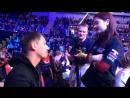 Артем Каторгин даёт интервью для Бокс ТВ