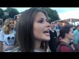 Юлия Топольницкая на концерте Шнура - Экспонат (2016)