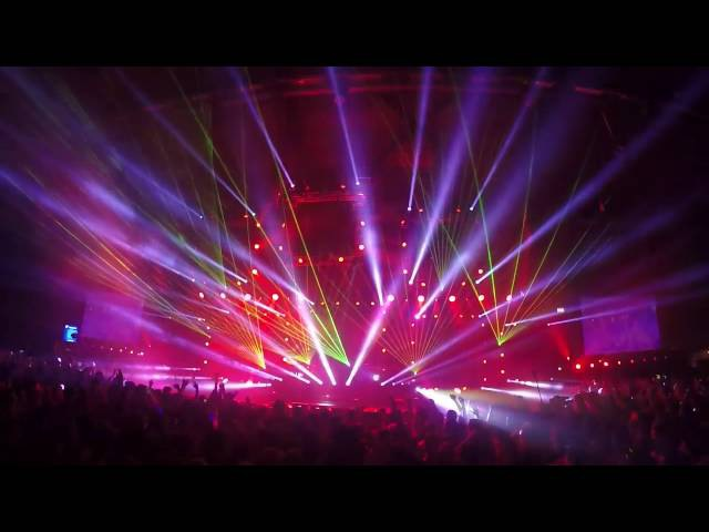 Lighting operator for Headhunterz - Live perfomance