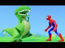 Мультфильмы Игры Супергерои Человек Паук Халк Динозавр Рекс Принцесса Анна Гон ...