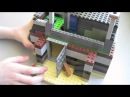 База Выживших при Зомби Апокалипсисе Лего Самоделка