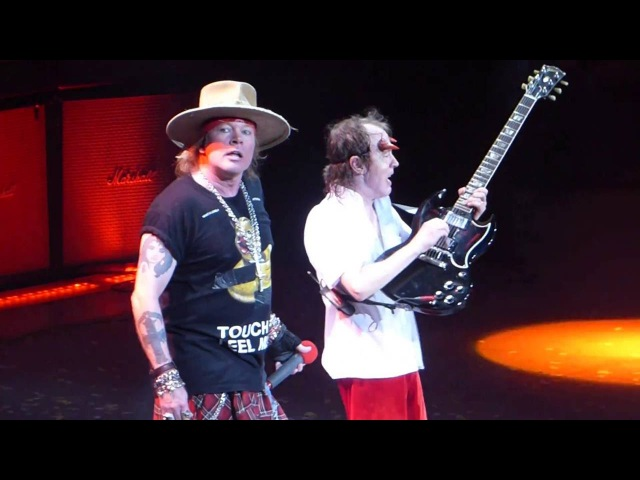 Highway to Hell AC/DC (w/Axl Rose)@Madison Square Garden New York 9/14/16