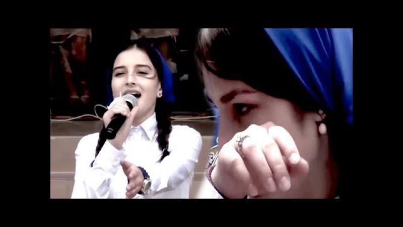 ДО СЛЕЗ!! Песня Маме 2017 Вся школа в слезах / Чеченка поет красиво