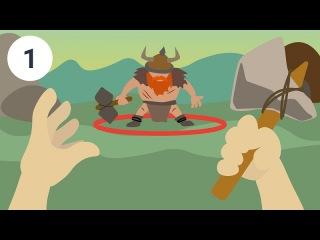 Создание простого First Person Shooter на Unity 3D. Часть 1[GeekBrains]