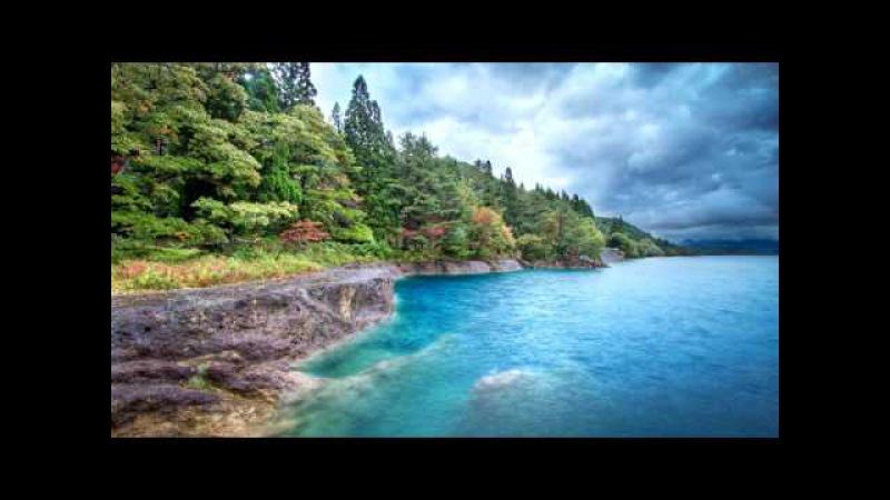 Красивая Гитарная Музыка, Шум Океанских Волн, Пение Птиц - Расслабляющая и Успокаивающая Музыка