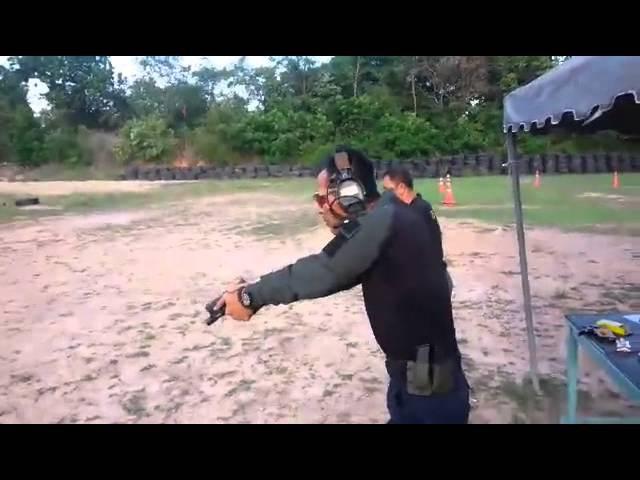 ฝึกยิงปืนแม่นภายใน 15 นัด Lv.2