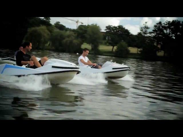 Gliss-Speed karting nautique électrique