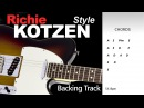 Richie Kotzen Style BackingTrack A