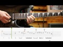 HOW TO PLAY Wasted Years - Iron Maiden (aula de guitarra)