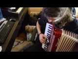 After the Burial - Lost in the Static (Accordion &amp Bagpipe cover)