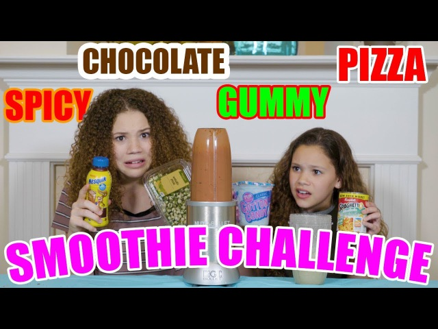 Smoothie Challenge (Haschak Sisters)